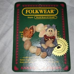 VINTAGE Pin Boyds Bears & Friends Easter 1999
